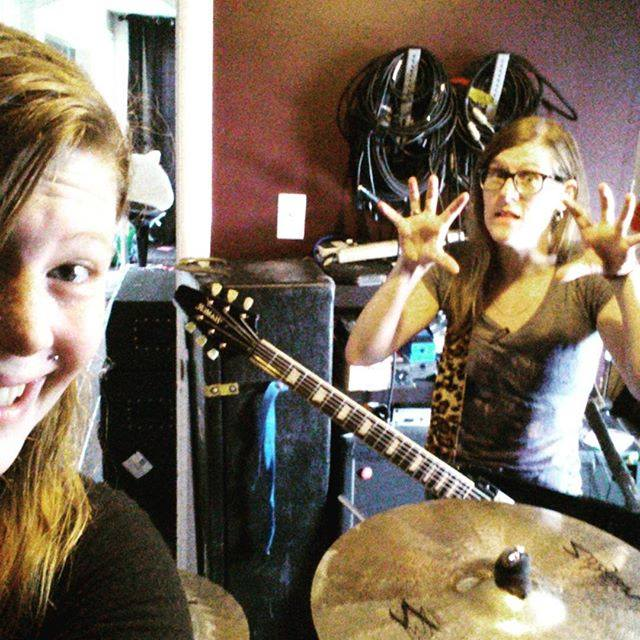 Kittie In The Studio